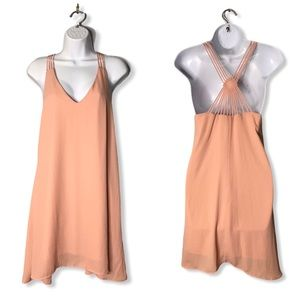 Dainty Hooligan | NWT Blush Diamond Back Dress